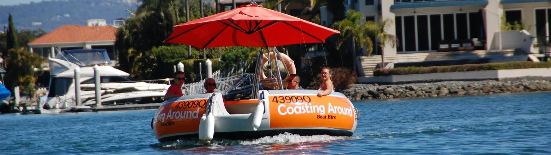 "How old do I have to be to rent a ""Coasting Around"" BBQ Boat?"