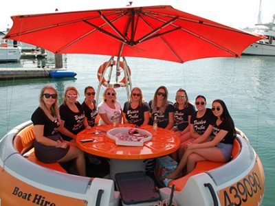 Round Boat Hire on the Gold Coast Waterways